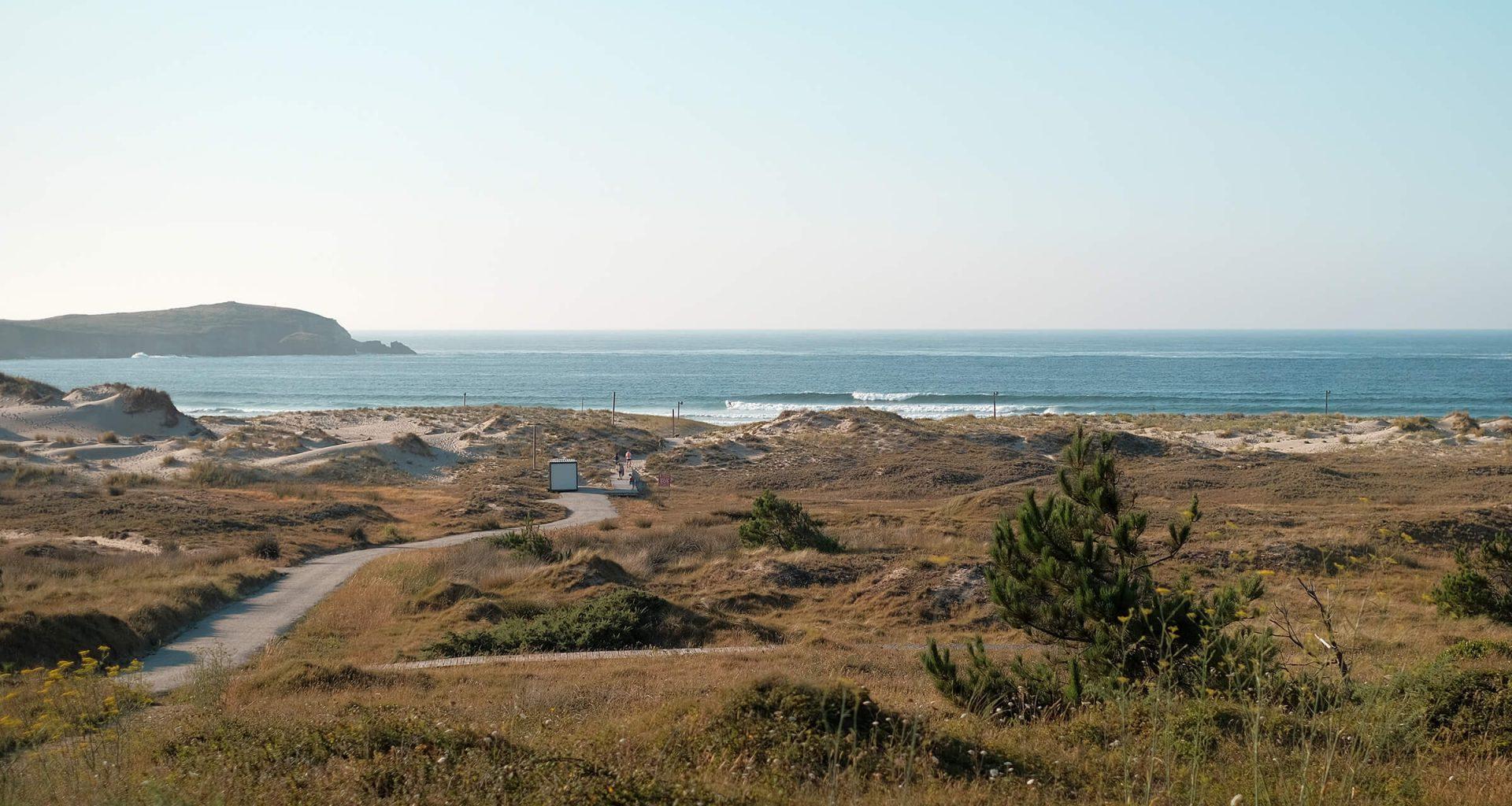 Wellen vom Aussichtspunkt